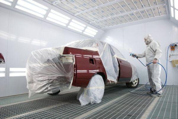 Окрашивание кузова авто